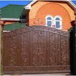 Ковка ворот в Крыму, Новый свет