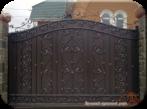 ворота и калитки в Крыму, кованные