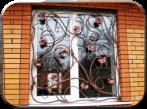 Решетки на окна, установка и ковка в Крыму